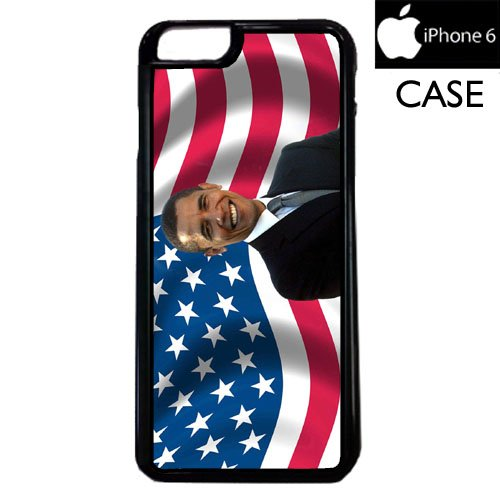 Barack Obama Apple iPhone 6 PLASTIC cell phone Case / Cover Great Gift Idea