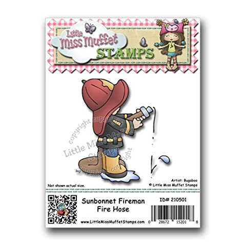 Little Miss Muffet Stamps - Cling Rubber