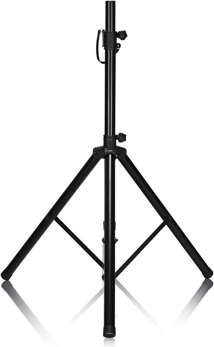 Costway Boxenstativ Boxen Ständer Lautsprecherständer Höhenverstellbar Von 97 183cm Boxenständer Belastbar Bis 50kg Baumarkt