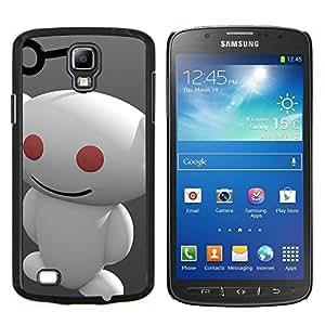 TECHCASE---Cubierta de la caja de protección para la piel dura ** Samsung Galaxy S4 Active i9295 ** --Redd1t extranjero