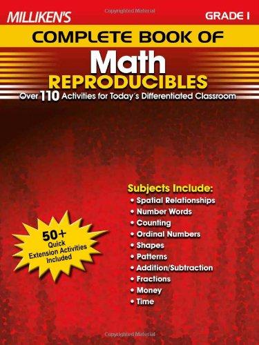 Milliken's Complete Book of Math Reproducibles - Grade 1 pdf epub