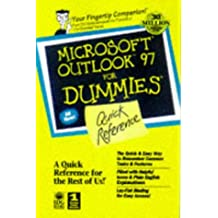 Microsoft Outlook 97 For Windows For Dummies Quick Reference