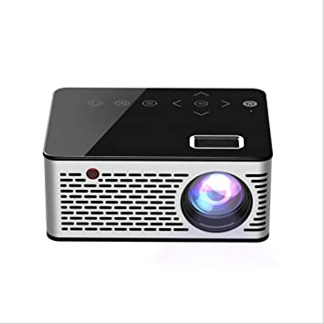 BESTSUGER Mini proyector HD, proyector portátil de Alta resolución ...