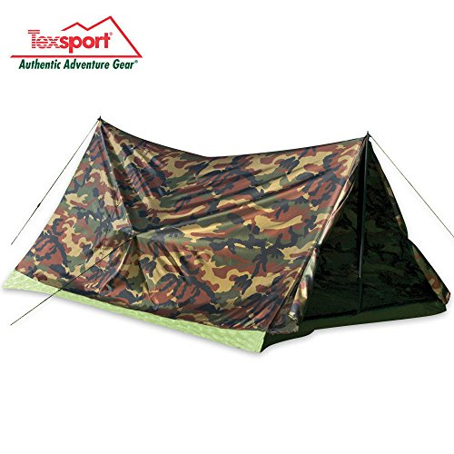 Texsport 2 Person Camouflage Trail Tent (Tent Person 2 Trail)