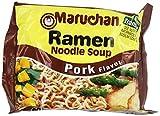 Maruchan Ramen, Pork, 3-Ounce Packages (Pack of 144)