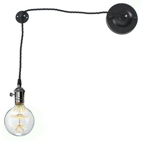 KINGSO E27 lampada vintage rétro, lampada da parete loft, lampada da ...
