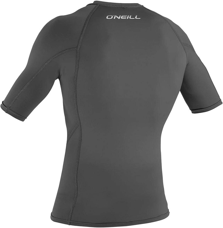 3342IS ONeill mens basic skins long sleeve rashguard 2XL Graphite