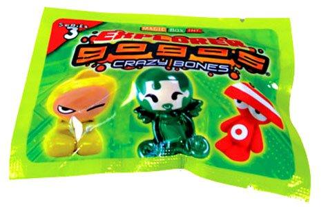 Crazy Bones Gogo's Series 3 Explorer Foil Pack (Includes 3 Crazy Bones)