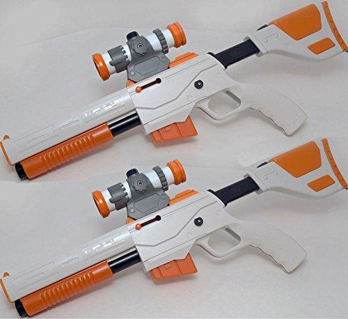 Nintendo Wii Cabela's Top Shot Elite GUN controller dangerous hunts 2011 2013 pro 2-GUN SET