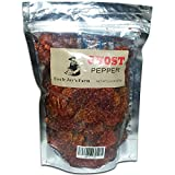 Uncle Jay's Farm Ghost Pepper, Bhut Jolokia, Whole Ghost Pepper pods for stews, chicken, chili beans, Pizza, salsas, soups, and more