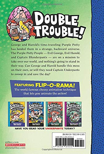 Captain Underpants and the Preposterous Plight of the Purple Potty People: Color Edition