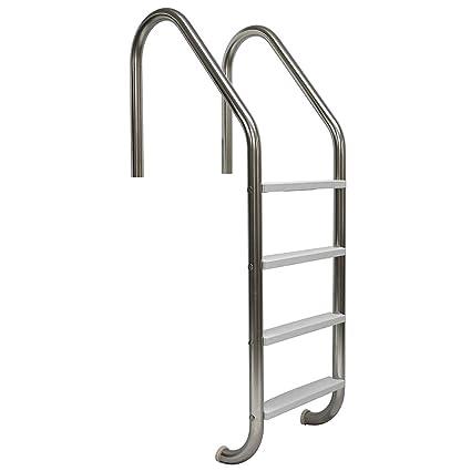 Stupendous Srsmith Vlls 104S 4 Step Economy Pool Ladder Elite Creativecarmelina Interior Chair Design Creativecarmelinacom