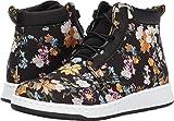 Dr. Martens Women's Darcy Floral Telkes Fashion Boots, Black, Canvas, 6 M UK, 8 M US