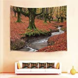 These one of a kind tapestries and 4pcs Pillow case will help transform your room into your private sanctuary! Perfect for any room including living rooms, bedrooms dining and dorm rooms. It can be used in different ways to decor home like as bedspre...
