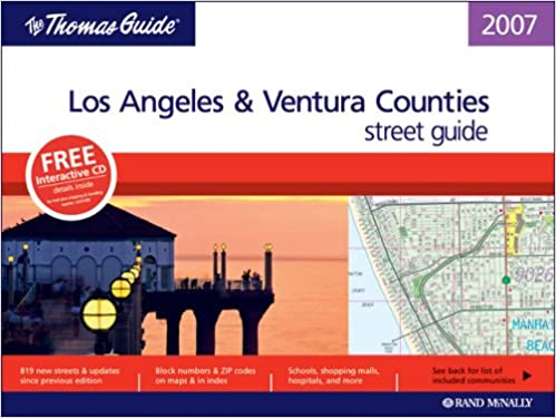 thomas guide 2007 los angeles and ventura county california thomas guide los angeles ventura counties street guide directory
