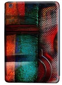 iPad Mini Case & Cover - Abstract Grunge Art Custom Design PC Hard Case Back Cover for iPad Mini