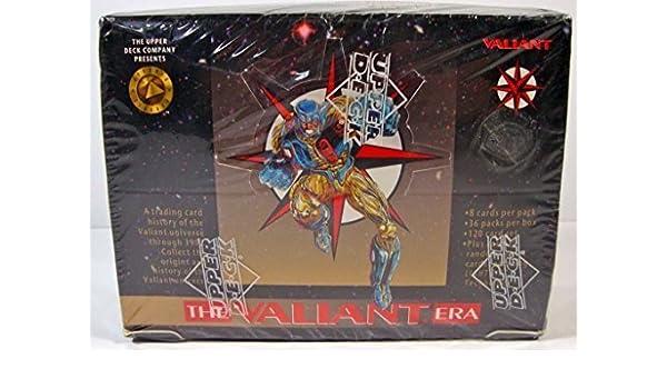The Valiant Era Trading Cards Box -36 Count by The Upper Deck Company: Amazon.es: Juguetes y juegos