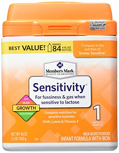 Member's Mark Infant Formula, Sensitivity, 48 Ounce