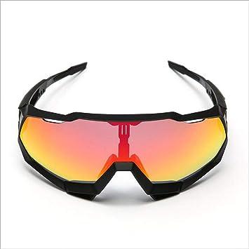 Tcbolsillo Gafas Polarizadas, Gafas De Ciclismo Bicicletas TR90 Totalmente Recubiertas Gafas Deportivas Gafas De Montura