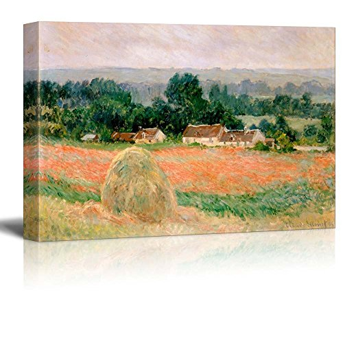 Claude Monet Haystack at Giverny Impressionist Art