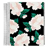 Erin Condren 18-Month July 2019 - Dec 2020 Coiled LifePlanner - Blossom Black, Hourly (Neutral Layout)