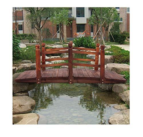 (Lapha' Countryside Wooden Bridge Brook Pond Pool Vowel Backyard Playground Garden Bridge Creek Backyard Arch Archway Walk Way Strong Puente 5ft)