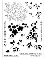 Cherry Blossoms Flower Clear Rubber Stamps Stamping DIY Scrapbooking Embossing Stencil Seal Home Decoration Crafts Album Greeting Cards Paper Crafts