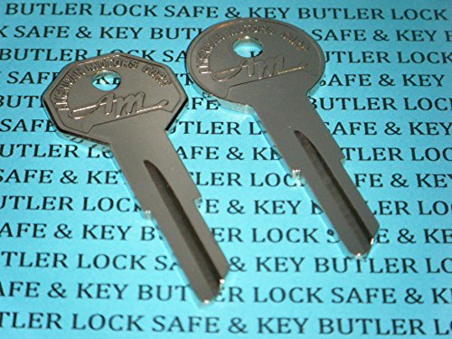 ORIGINAL OEM AMC AMERICAN MOTORS KEY BLANKS HURD NOS IGNITION / TRUNK GB 1957 to 1969 AMC Ambassador American AMX Classic Custom Deluxe Javelin Marlin Rambler Rebel Rogue Super (Amc American Motors Javelin)