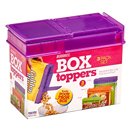 Buddeez Box Toppers Piece Set