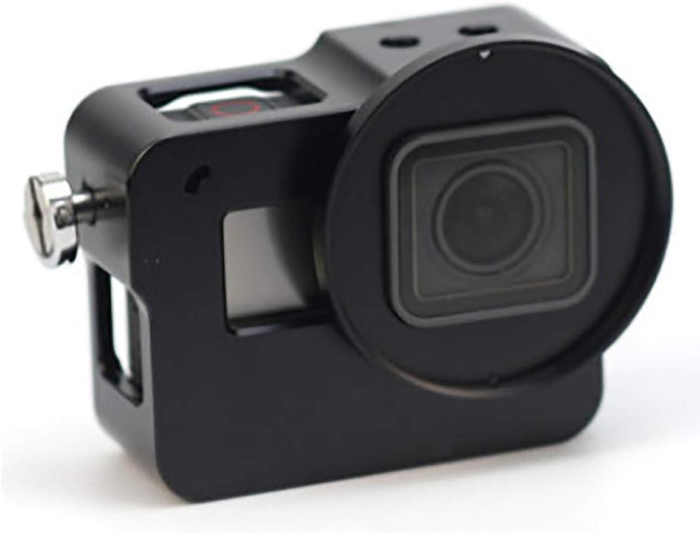 غطاء حماية مقاوم للماء لكاميرا جوبرو هيرو 5 أكشن كاميرا، غطاء الإسكان لجو برو هيرو 5 حافظة مقاومة للماء للغطس واقية غطاء 45 م، أسود