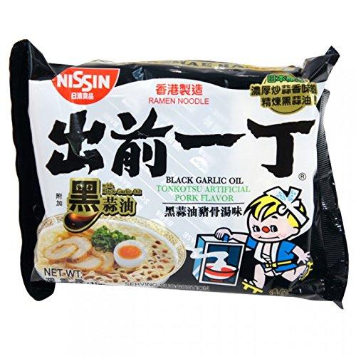 Nissin Demae Black Garlic Oil Instant Ramen Noodles 30 Packs ()