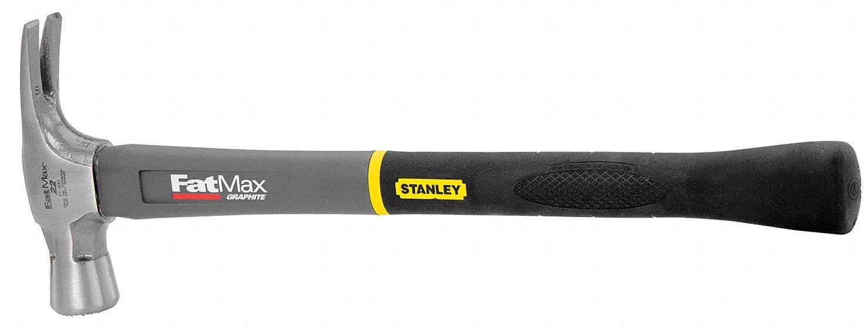 STANLEY 51-000 Framing Hammer,Graphite,Axe,Milled,22 Oz
