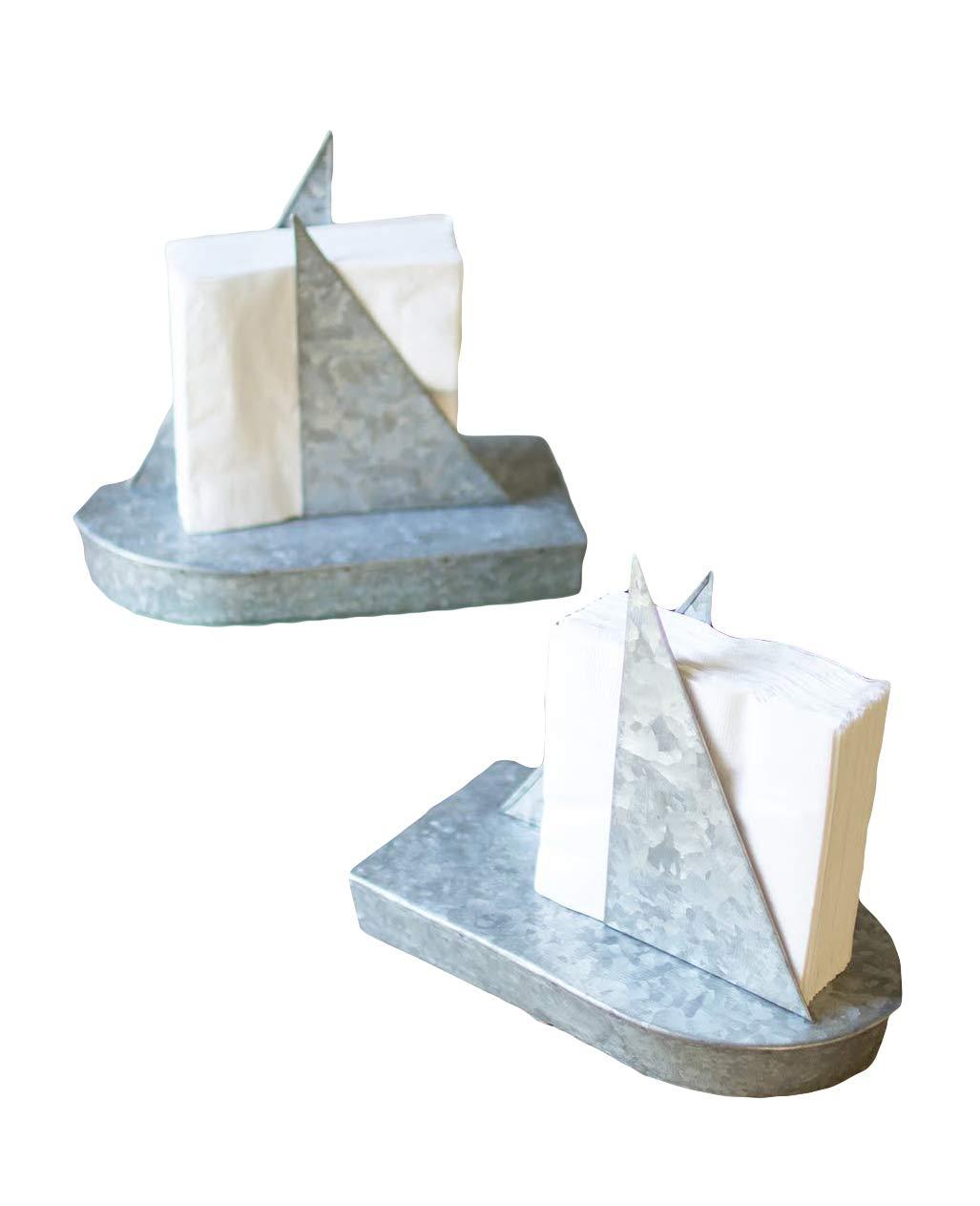 Kalalou NNL2140 缶 ヨット ナプキン ホルダー   B078TTLTG2