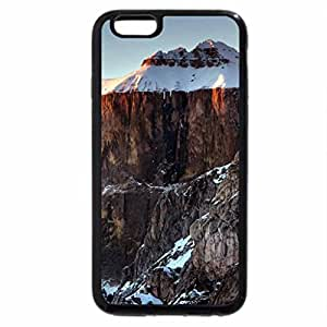 iPhone 6S / iPhone 6 Case (Black) sella group mountains in the dolomites