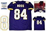 Randy Moss Autographed SIGNED Custom Jersey - Beckett Authentic