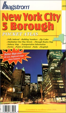Read Online New York City 5 Borough Pocket Atlas pdf