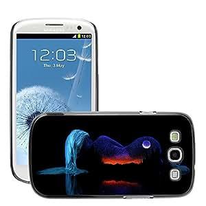 Super Stellar Slim PC Hard Case Cover Skin Armor Shell Protection // M00047873 space girl aero black // Samsung Galaxy S3 i9300
