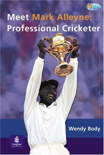 Download Meet Mark Alleyne:Professional Cricketer Non-Fiction Pk 2 & Teacher's Card (Pelican Hi Lo Readers) pdf