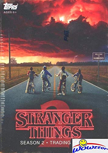 2019 Topps Stranger Things Series 2 EXCLUSIVE HUGE Factory Sealed Blaster Box with 70 Cards & PATCH RELIC! Look for Autographs, Sketch Cards, Stickers, Printing Plates & More! WOWZZER!