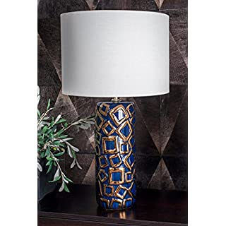 """nuLOOM Home NPT03AA Durham Table Lamp, 25"""" Height, Gold"""