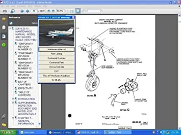 amazon com cessna 402c service maintenance service mm parts ipc rh amazon com cessna 402b maintenance manual free pdf cessna 401/402 service manual