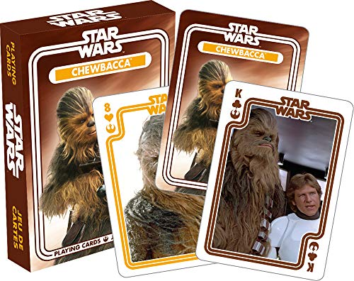 Aquarius Star Wars Chewbacca Playing Cards