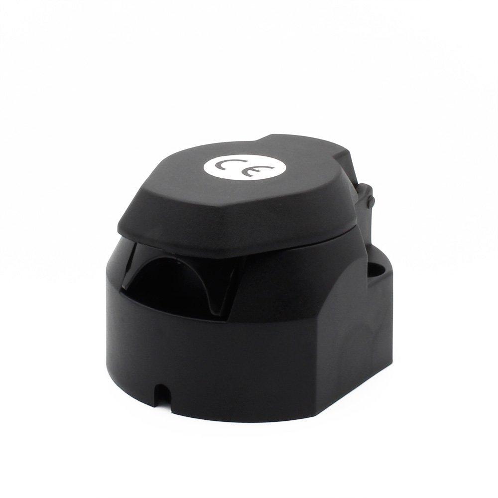 Enchufe de Remolques 13 polos Conector Colgante de Autom/óviles adaptador Trailer Tester Convierte una toma de remolque