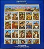 Legends of the West Error Sheet in Original Blue USPS Holder Scott 2870