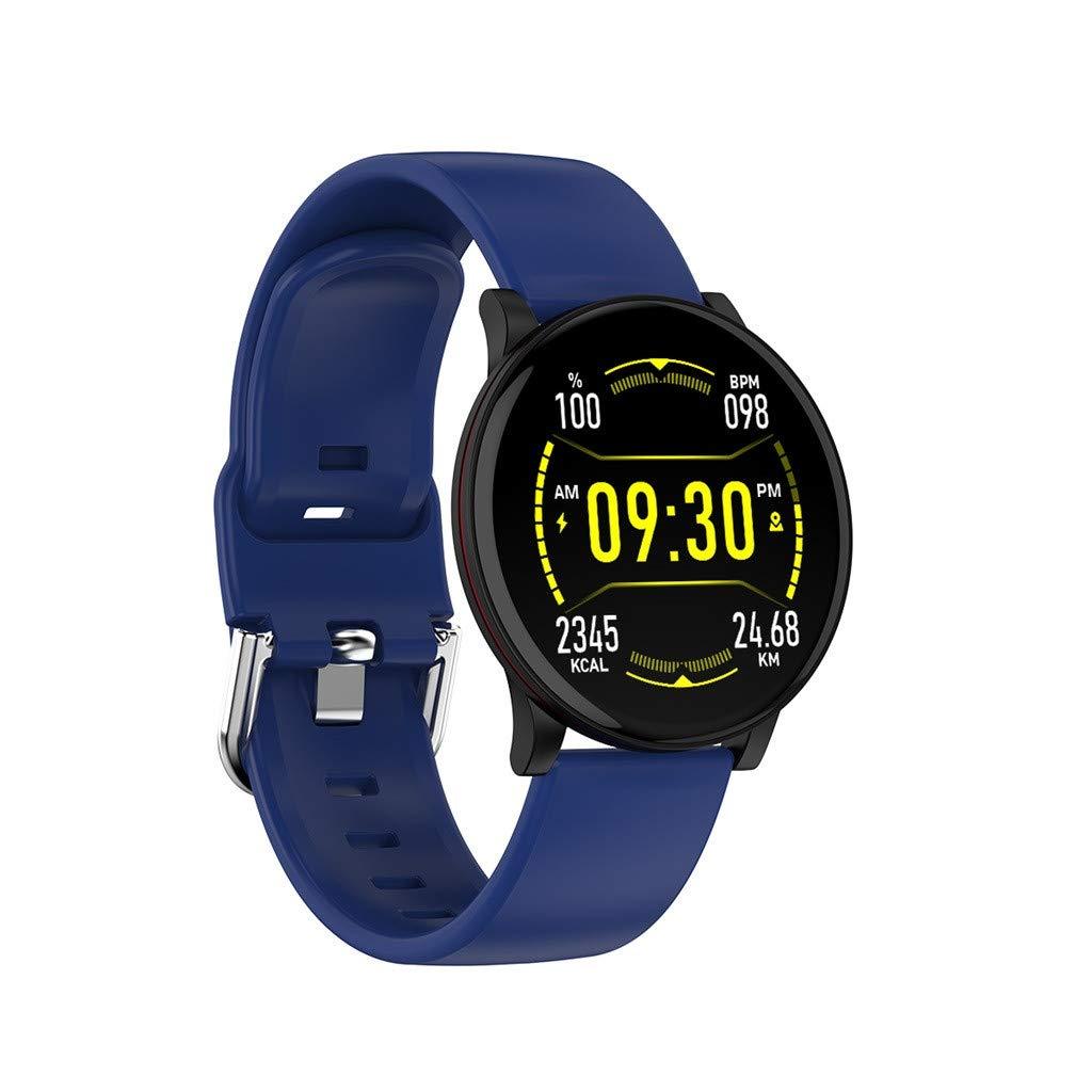 Benbzh Reloj Inteligente Smartwatch con PulsóMetro Unisexo ...