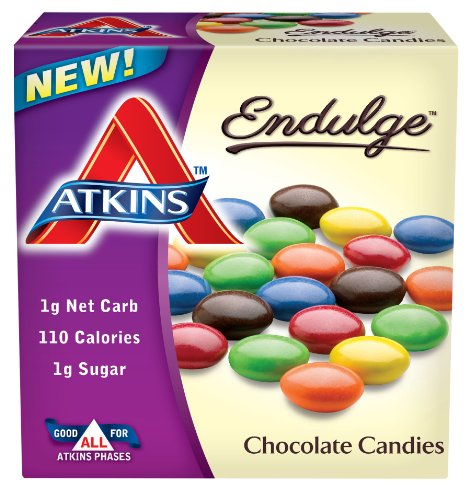 Atkins Chocolate Candies Ounce Count
