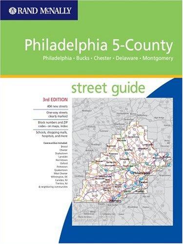 Philadelphia 5-County Street Guide: Philadelphia, Bucks ... on county map of pennsylvania, county map of florida, county map of eastern pa, county map of united kingdom, county map of milwaukee, county map of long island, county map of lancaster, county map of delaware county, county map of rhode island, county map of baltimore, county map of burlington, county map of dallas, county map of northern california, county map of st. louis, mo,