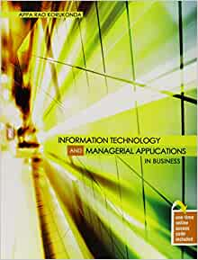 managerial applications for information technology Us department of veterans affairs _____ office of information and 4 information management technology application technology supports the oneva eta sub-segment, it services and capabilities, and.