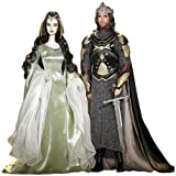 Barbie and Ken as Aragorn and Arwen Evenstar - Lord of The Rings Gift Set
