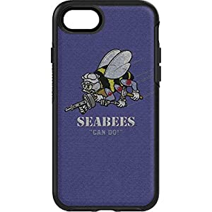 US Navy OtterBox Symmetry iPhone 7 Skin - Seabees Can Do Vinyl Decal Skin For Your OtterBox Symmetry iPhone 7 from Skinit